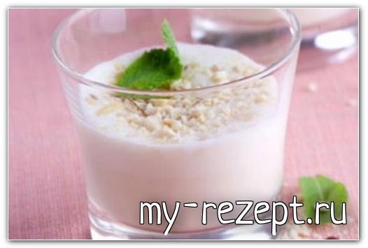 Арахисовый смузи - рецепт