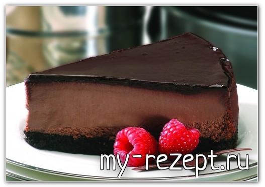 Чизкейк шоколадный - рецепт