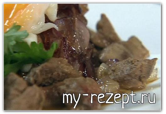 Подлива из куриной печени - рецепт