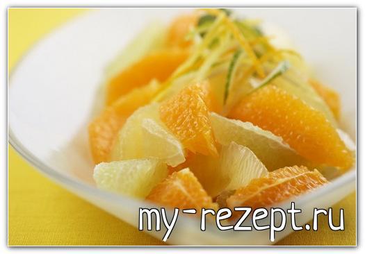 Cалат из свежих фруктов - рецепт