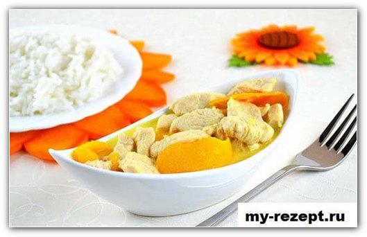 мясо в апельсиновом соусе