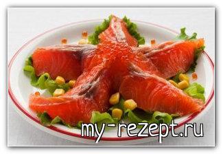 салат морская звезда