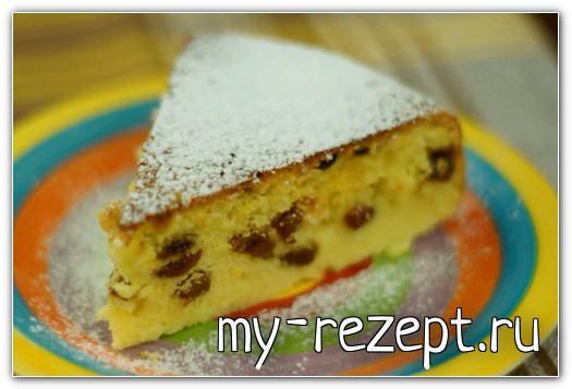 Лимонный кекс в мультиварке выпечка - рецепт
