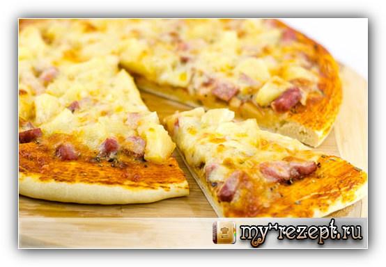 Пицца рецепт с фото пошагово!